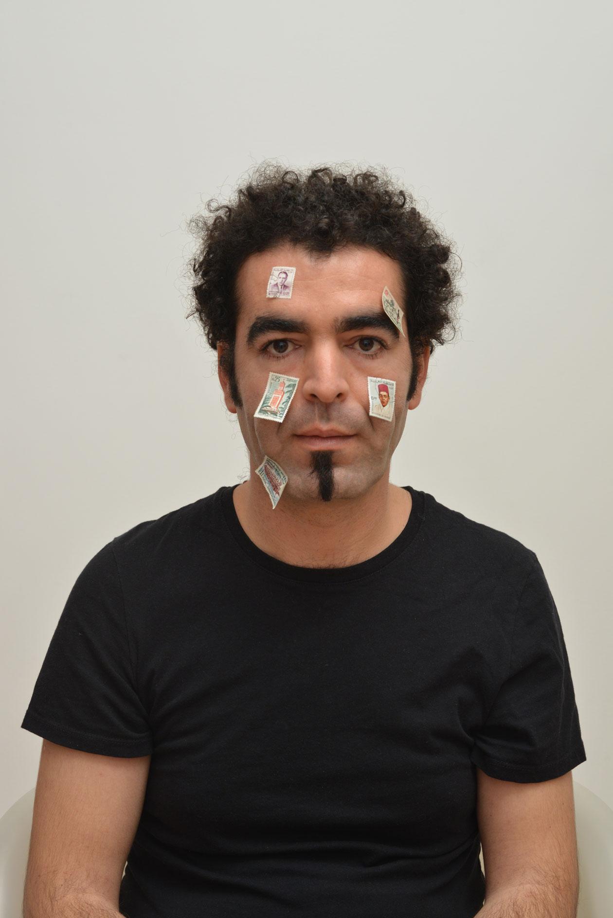 Badr El Hammami,Autoportrait,2013,1of3