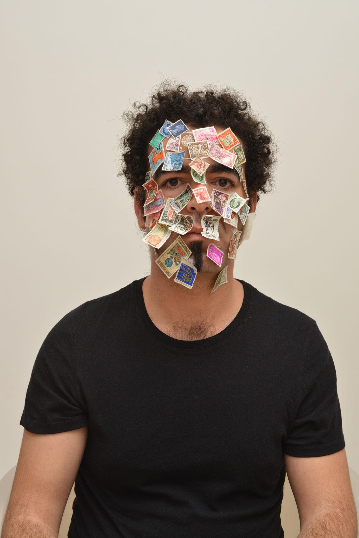 Badr El Hammami,Autoportrait,2013,2of3