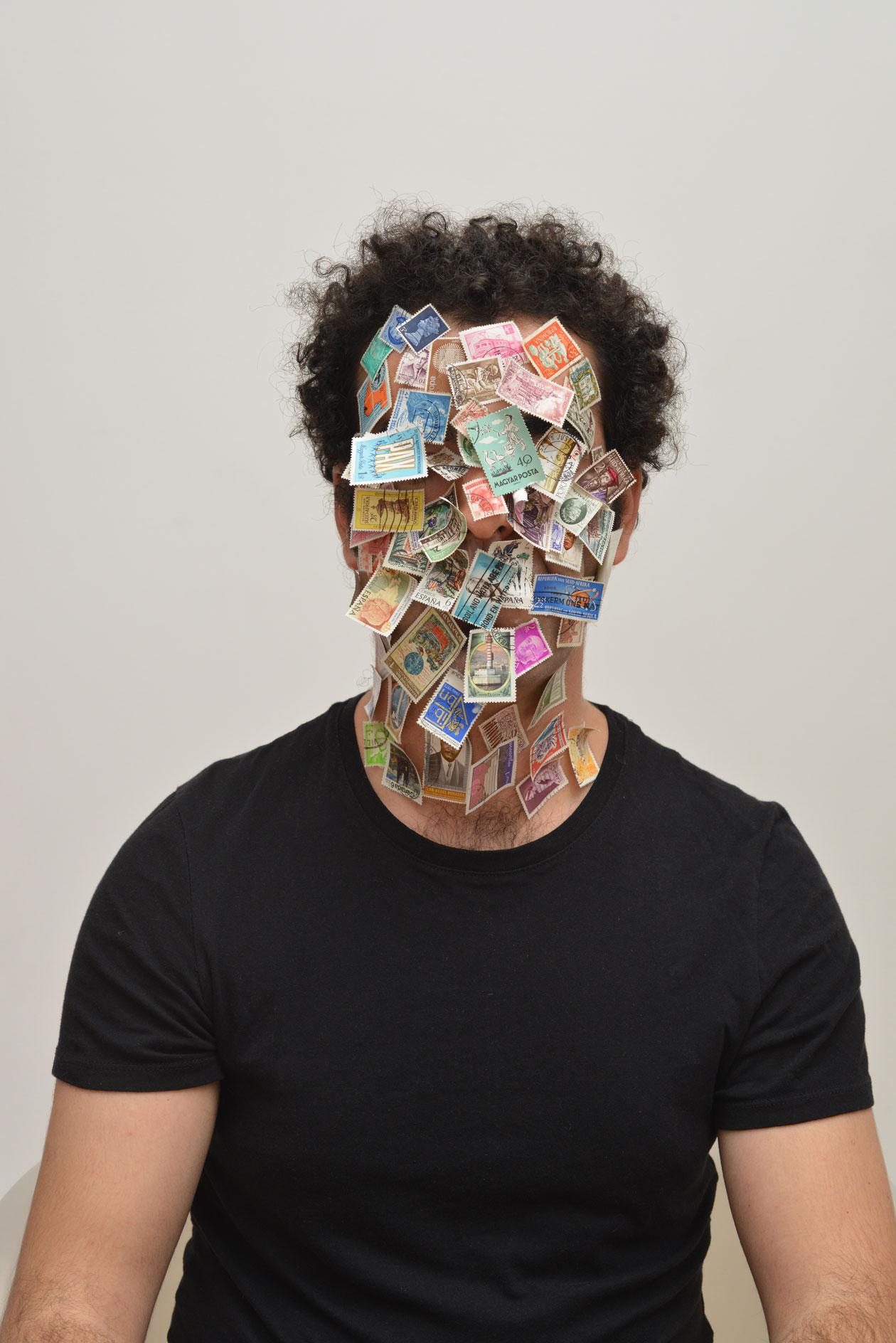 Badr El Hammami,Autoportrait,2013,3of3