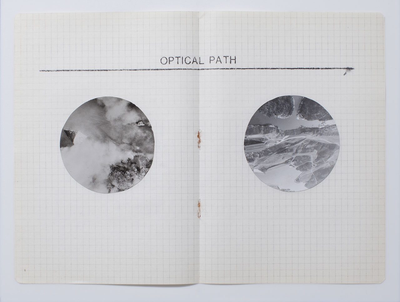 Hajra Waheed, KH-21, Notes 17/32, 2014, Cut Photograph, Xylene Transfer & Graphite on Paper. Image courtesy the artist.