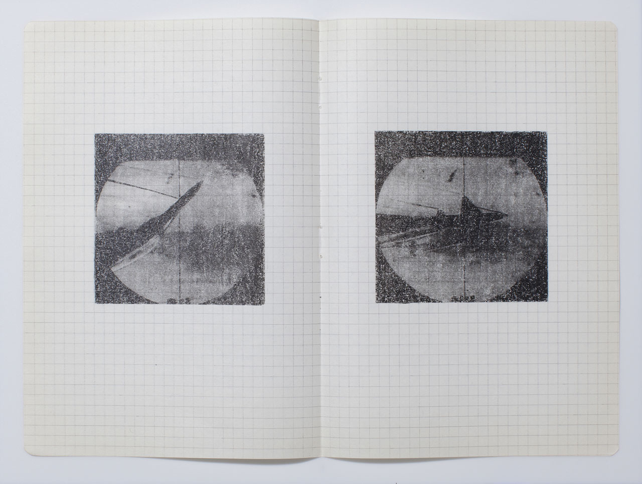 Hajra Waheed, KH-21, Notes 5/32, 2014, Xylene Transfer & Graphite on Paper. Image courtesy the artist.