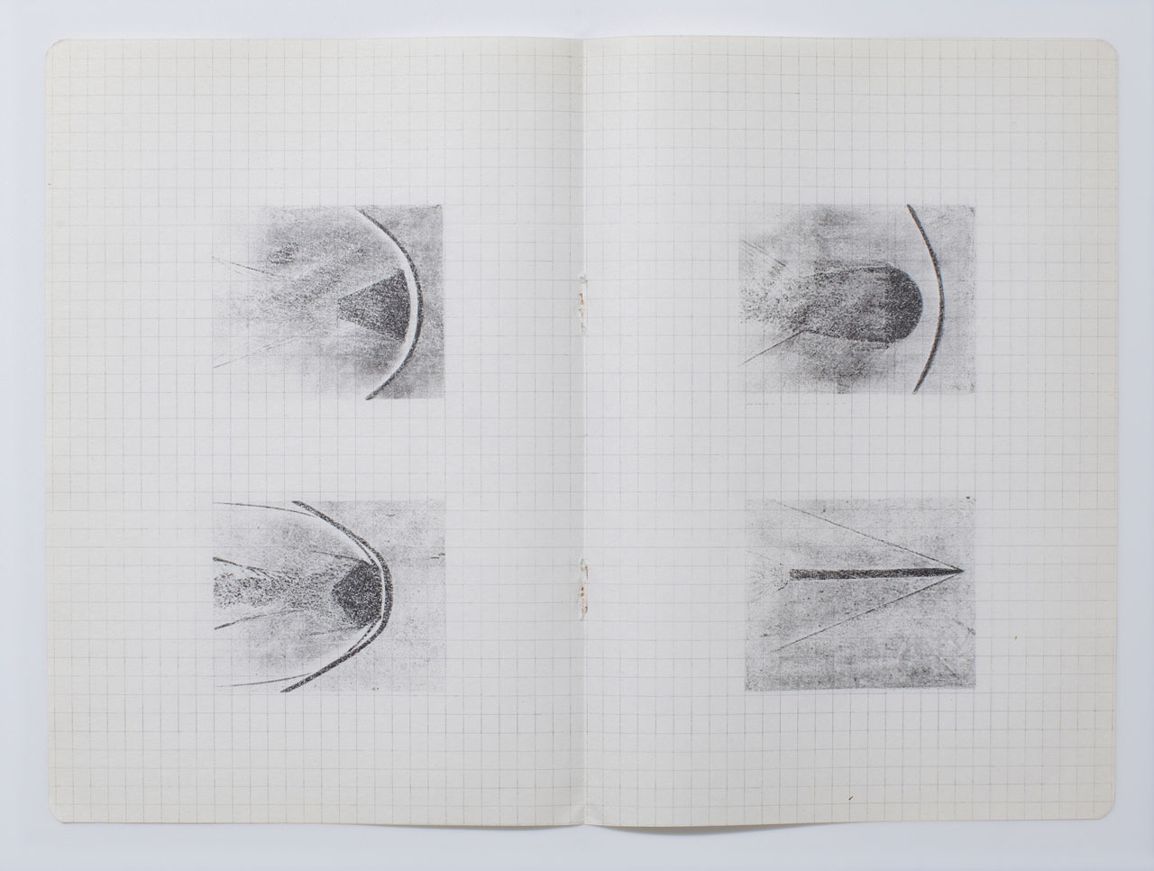 Hajra Waheed, KH-21, Notes 6/32, 2014, Xylene Transfer & Graphite on Paper. Image courtesy the artist.