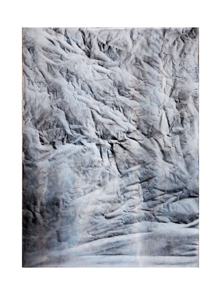 Stanislao Di Giugno, 'Painting for Empty Spaces #2', 2014, mixed media on linen, cm. 150 x 110. Photo: Davide Franceschini. Image courtesy the artist and Galleria Tiziana Di Caro.