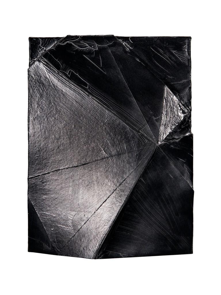 Stanislao Di Giugno, 'Untitled', 2013, gesso, graphite and acrylic on burlap, cm. 50 x 40. Photo: Davide Franceschini. Image courtesy the artist and Galleria Tiziana Di Caro.
