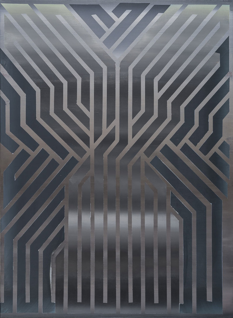 Stanislao Di Giugno, 'You Never Have a Second Chance to Give a First Good Impression, 2015, acrylic and plaster on canvas, 150 x 110 cm. Photo: Sebastiano Luciano. Image courtesy the artist and Galleria Tiziana Di Caro.
