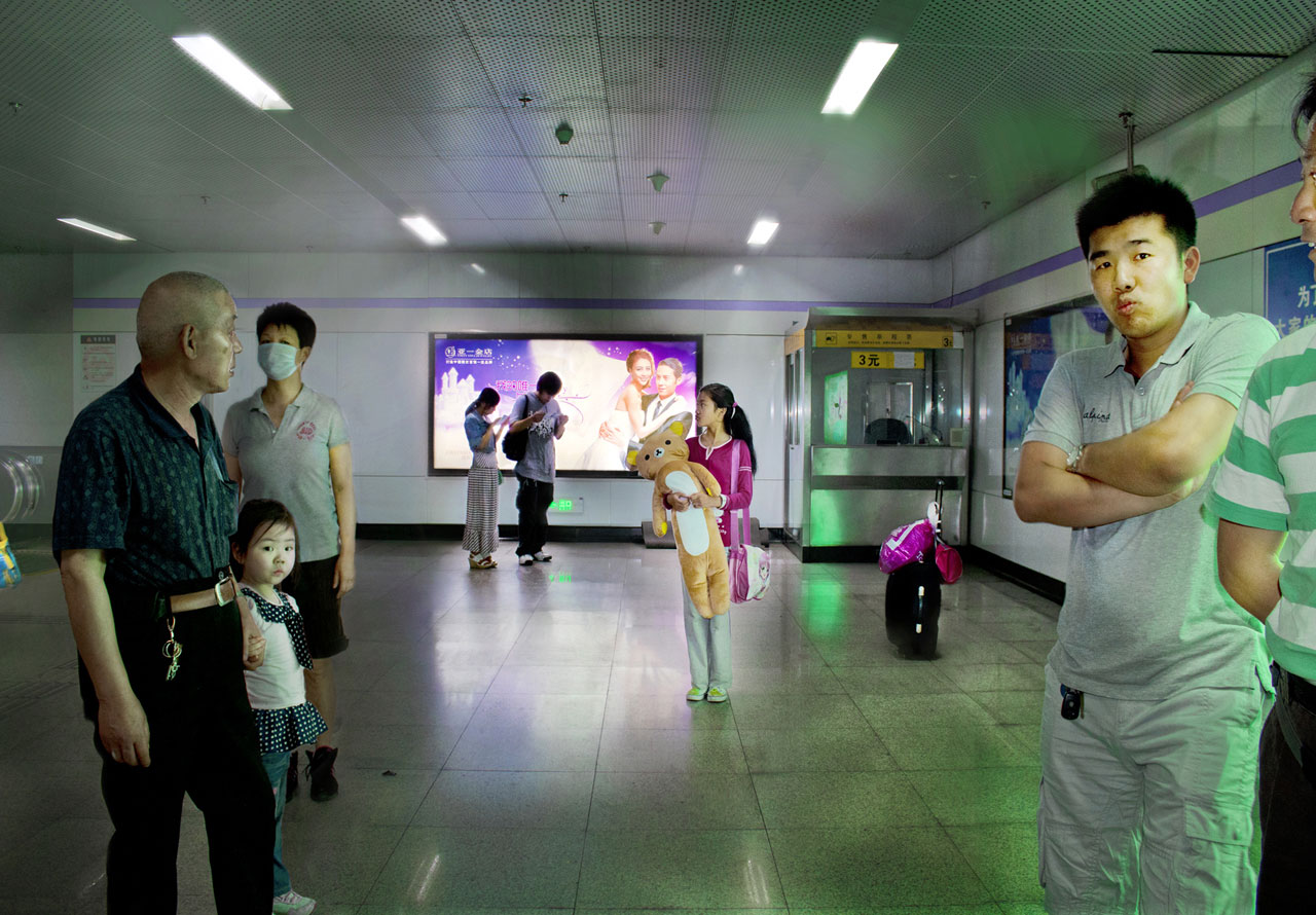 Marta Corada, 'Post Memories Yu Garden Underground Station Shanghai', 2012. Courtesy the artist.