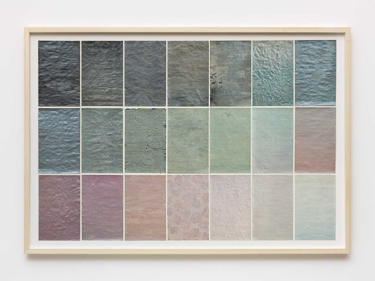 Marco Basta,'Pioggia Primaverile', 2012, inkjet print and pearl pigment on various papers, 109 x 158 cm. Photo: Andrea Rossetti. Image courtesy the artist.