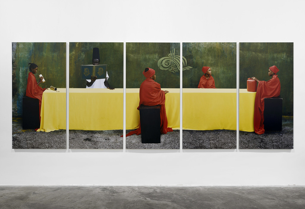 Maïmouna Guerresi, 'Students and Teacher', 2012. Image courtesy Matèria Gallery.