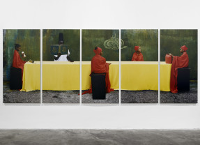 "Islam and spiritualism in Maïmouna Guerresi's ""Talwin"" on view at Matèria Gallery"