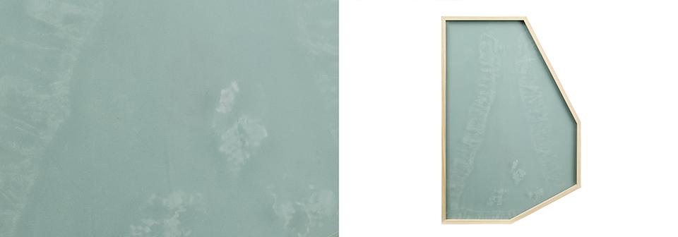 Davide D'Elia, 'Adele', 2014, ozidized old glass, enamelled glass, polygonal frame. Photo: M3S Produzioni fotografiche Roma. Image courtesy the artist.