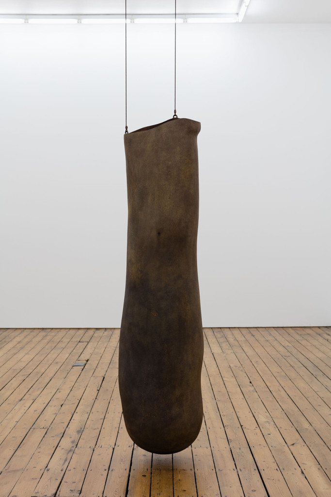 Peter Shelton, 'Longbag', 1988-89, Cast iron. Image courtesy the artist and The Approach, London.