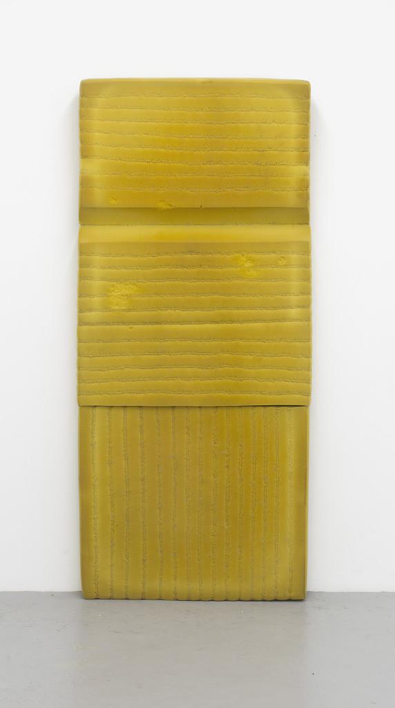 Bronwyn Katz, 'Erf' (2016) | Mattress, wire, 194 x 88 x 14 cm