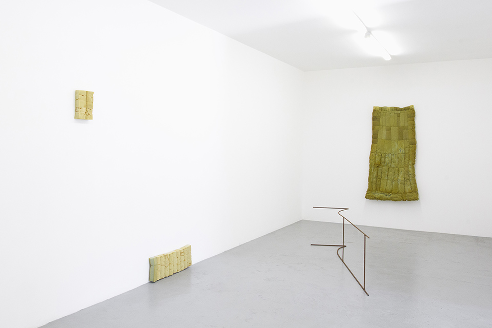 Bronwyn Katz, Groenpunt (2016) | Installation view, blank projects 2