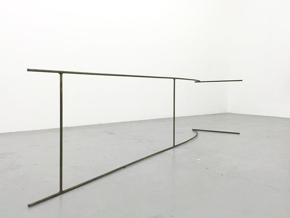 Bronwyn Katz, 'Kooi' (2016) | Mild steel, 196 x 47 x 51 cm