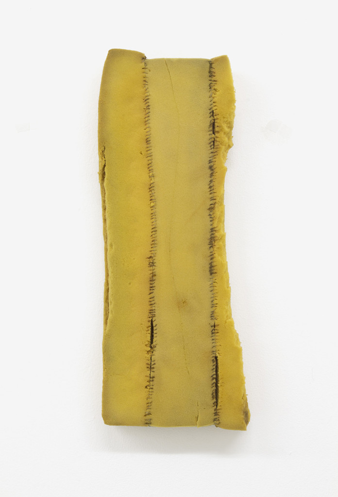 Bronwyn Katz, 'Untitled (Brief 2)' (2016) | Foam, rusted wire, 56.5 x 23 x 6 cm