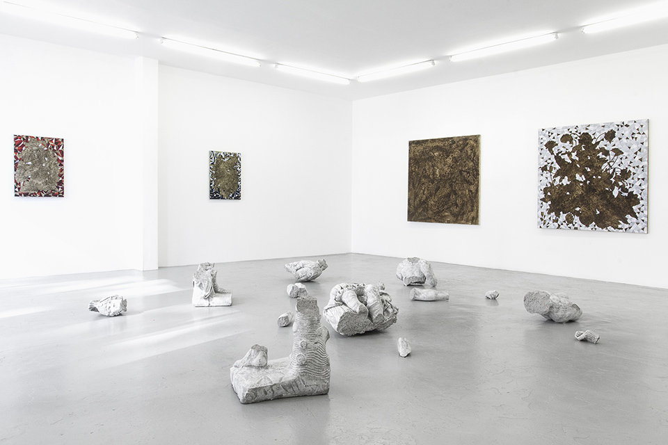 Cinga Samson, Ubugqoboka Magqoboka (2016)   Installation view, blank projects
