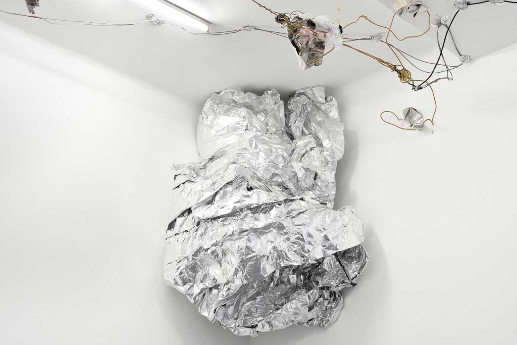 David Prytz, 'Tabula Rasa, again', installation view. Photo: Roberto Apa. Image courtesy Galleria Mario Iannelli.