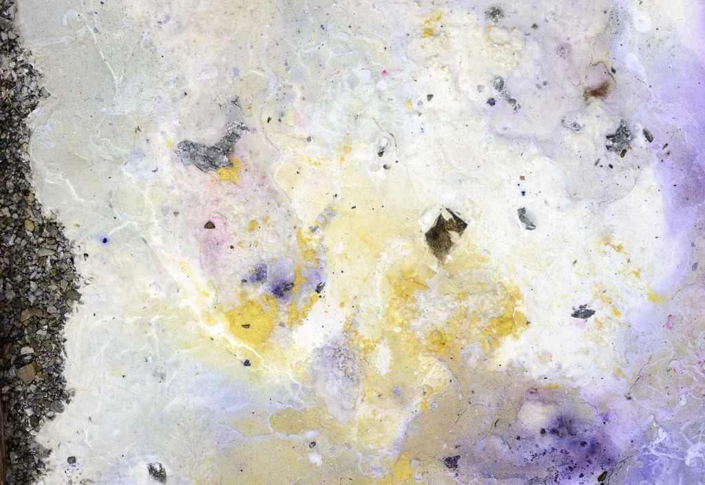 David Prytz, 'Dumb Alchemy' (detail), 2014, copper, pigments, soil, zinc, acrylic, brass, aluminium, marble, hot glue, plaster, stones. Photo: Roberto Apa. Image courtesy Galleria Mario Iannelli.